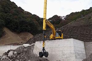 挖掘机伸缩臂改装