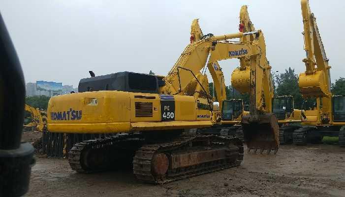 小松挖掘机PC450-8